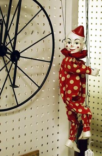Wheel and clown