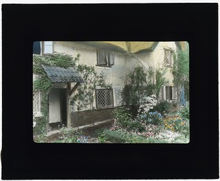 "[""Wellsbridge Cottage,"" Philip Herbert Martineau house, Wellsbridge (near Ascot), England. (LOC)"