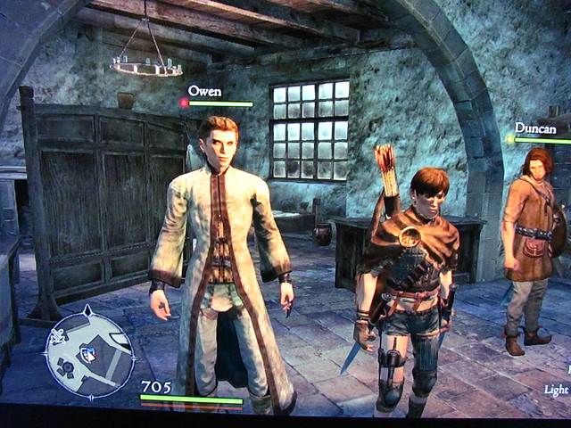 Owen and Cope in Dragon's Dogma