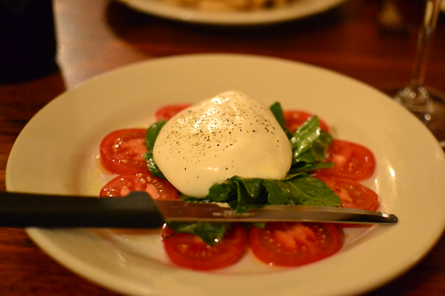 Burrata with Tomatoes