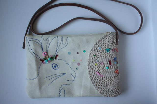 new Usagi Por Moi Jackalope bag