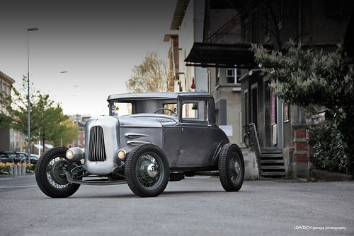 Ford Model A Three Window Coupe
