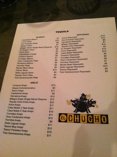 Tequila Restaurant Menu Rock Hill Sc