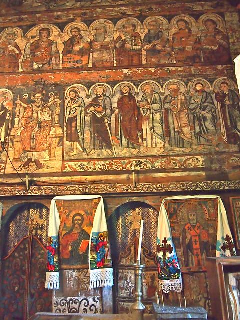 Budesti Wooden Church, Romania