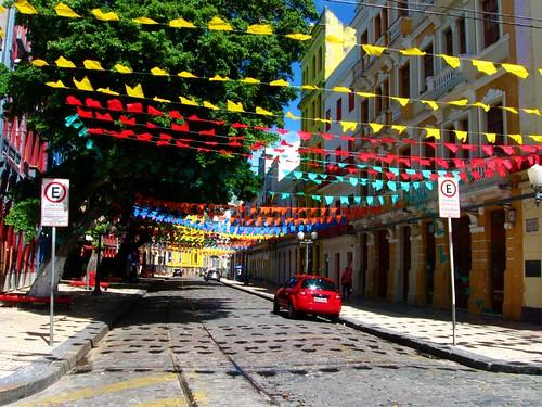 A rua mais linda de Recife - Rua do Bom Jesus