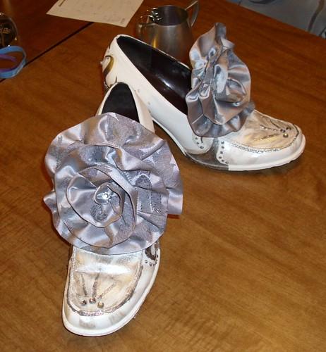 shoes done-fashion pose