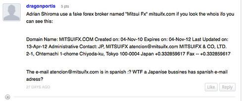 mitsuifx-information