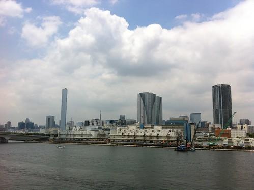 From Harumi bridge