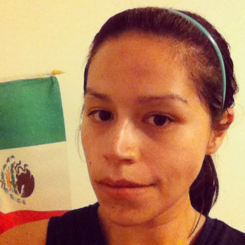Day 1: Self portrait while following election results in México. #photoadayjuly