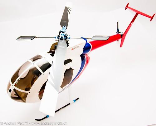 MD500 - Trex 450 Sport
