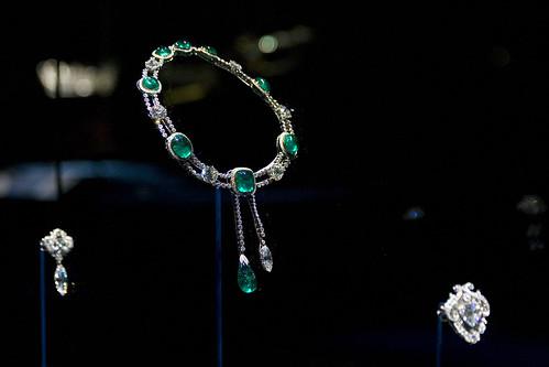 Three of the smaller Cullinan jewels