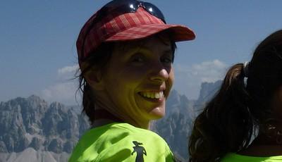 Brixen Marathon podruhé. Nechápu jak jsem se nahoru dostala