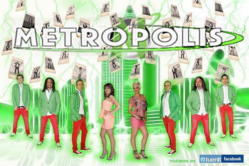 Grupo Metrópolis 2012 - cartel