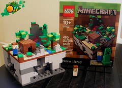 Minecraft Micro World 21102