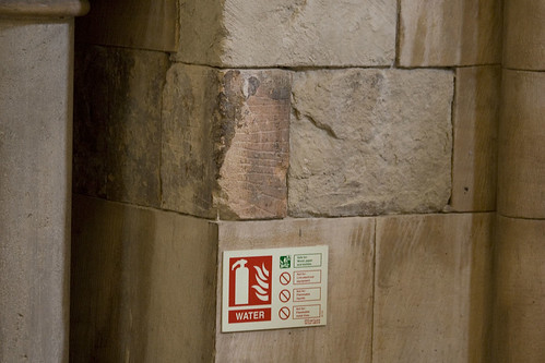 Stonework in Southwark Cathedral