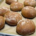 (17) Freshly baked Farmhouse 100% Whole Wheat burger buns - FarmgirlFare.com