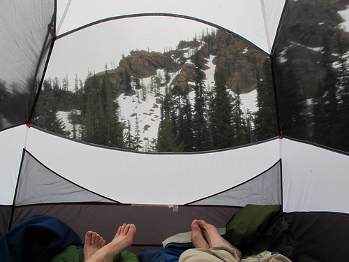best. tent. view. ever.