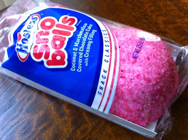 Hostess Pink Sno Balls | Flickr - Photo Sharing!