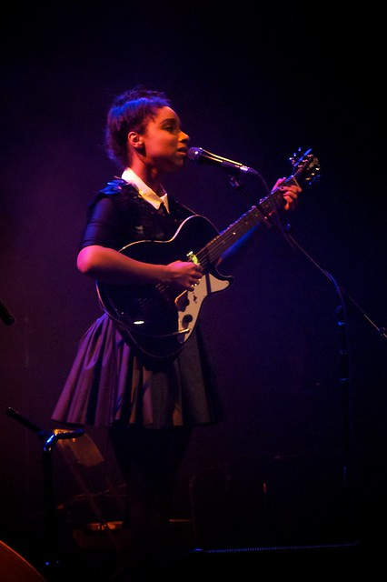 Lana La Havas supporting Robert Plant and the Sensational Space Shifters