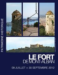 Le fort de Mont Alban