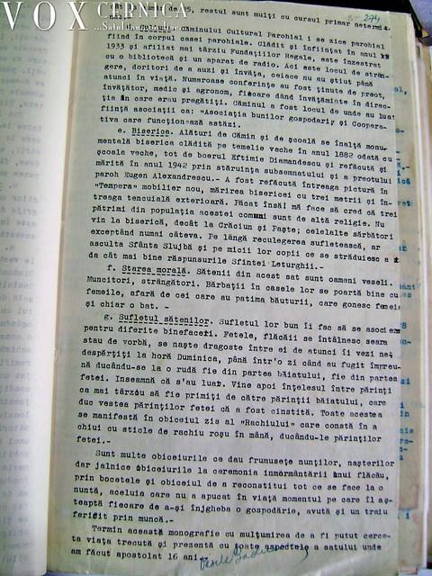 Monografie sat Balaceanca