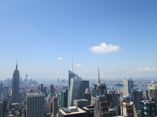 Top of the Rock, Rockefeller Center. NYC. Nueva York