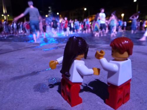 Dancing at Market Square by Dr. Mark Kubert