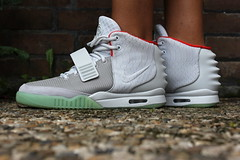 new arrival bc885 96c38 Nike Air Yeezy 2 Wolf Grey Pure Platinum   by ymor80 ...