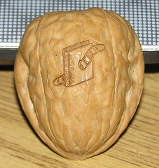 carving(0.0), produce(0.0), organ(0.0), wood(1.0), tree nuts(1.0), food(1.0), walnut(1.0),