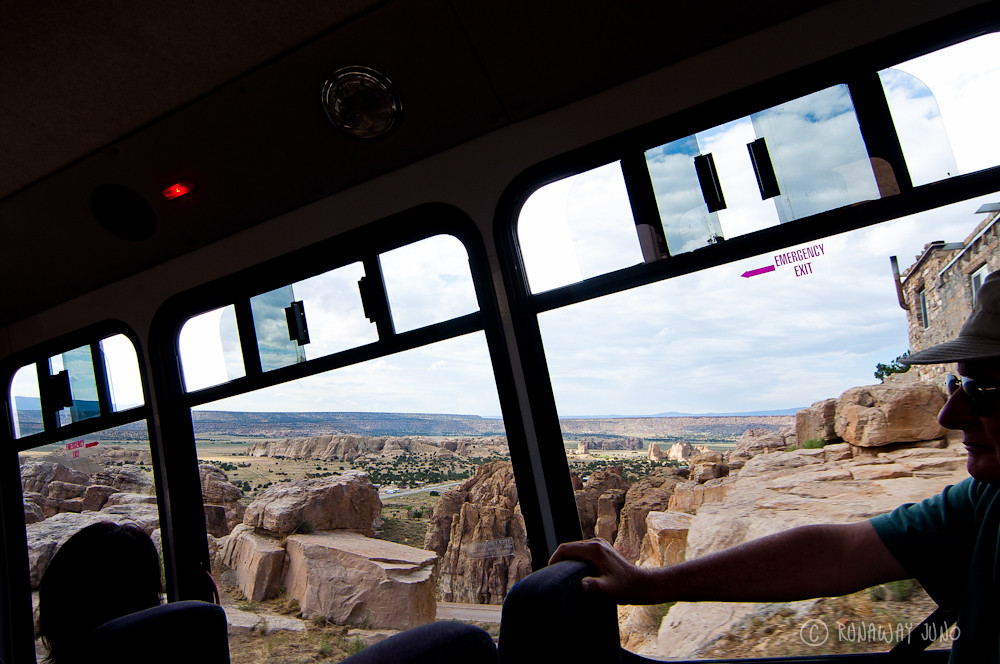 Acoma Pueblo tour bus