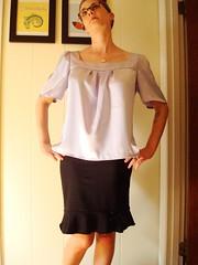 Lavender blouse 5
