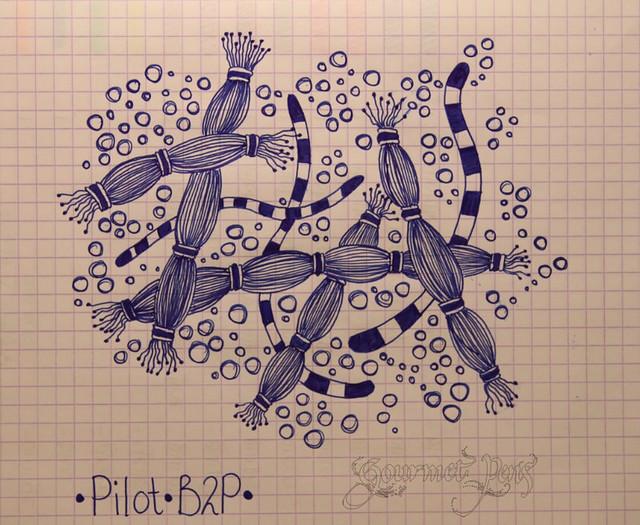 Pilot B2P Doodle