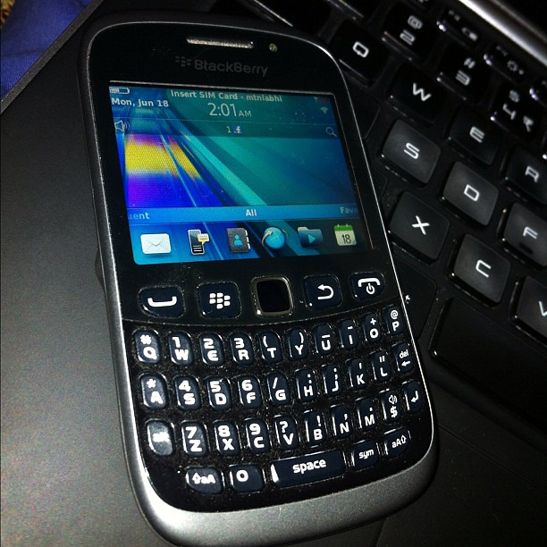 Blackberry 9320 review will