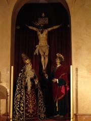 Cristo de las Siete Palabras y Nuestra Señora de los Remedios