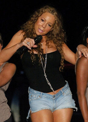 mariah carey short shorts