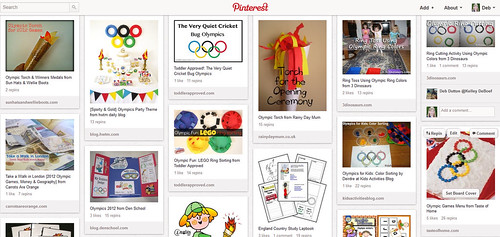 Pinterest - Olympic Unit Study