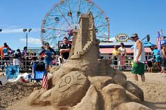 Coney Island Sand Sculpture Contest