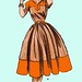 Butterick 6872 1950s: Whatadress