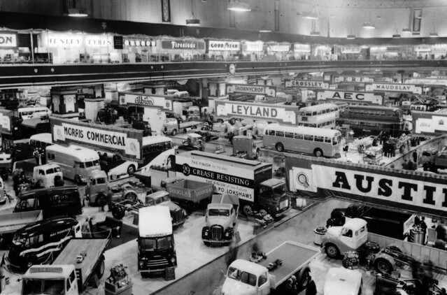 1954 Commercial Motor Show, Earls Court