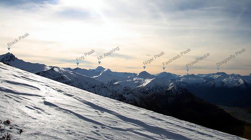 newzealand sky mountain snow otago treblecone mtaspiring mtaspiringnp canon400ddslrcanonef2485mmf3545usm