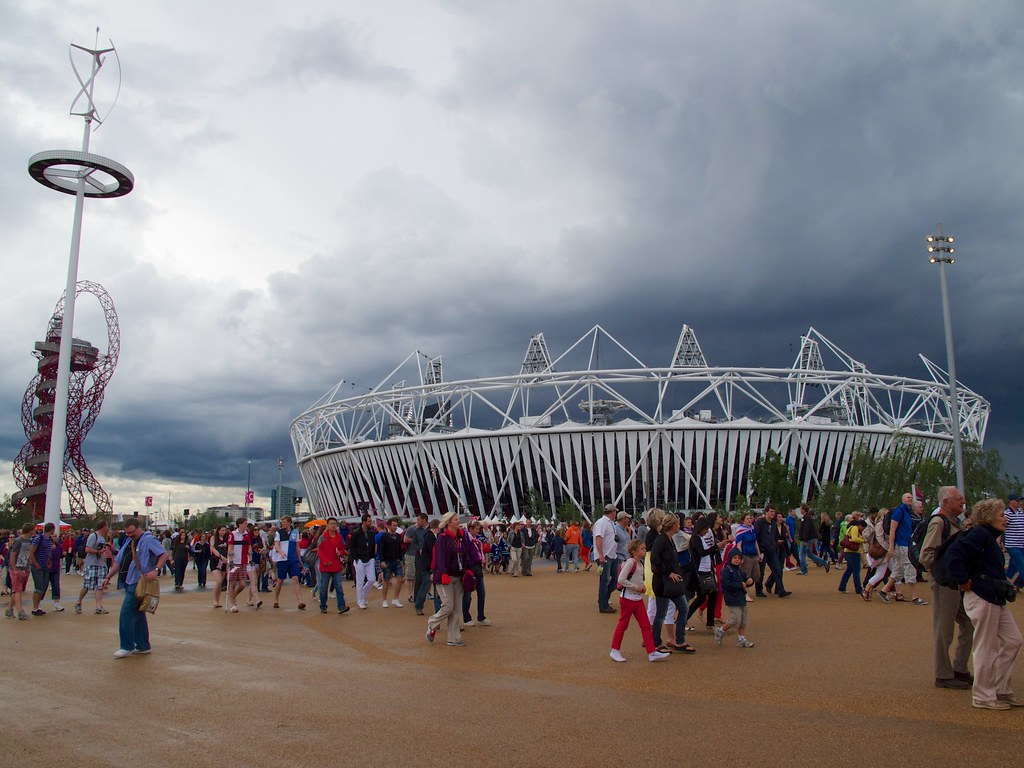 Dark Skies and the Olympic Stadium
