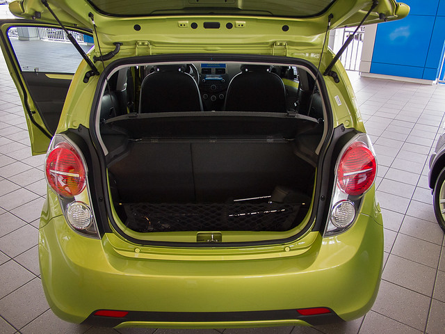 Chevy Spark Hatch Open
