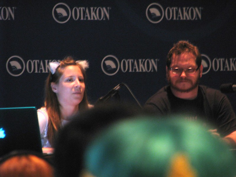 Lauren and Patrick discuss sexism at their panel