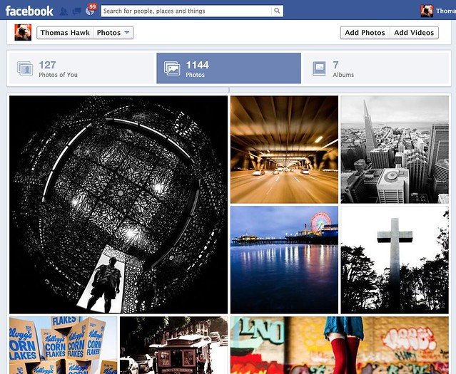 New Facebook Photos Layout