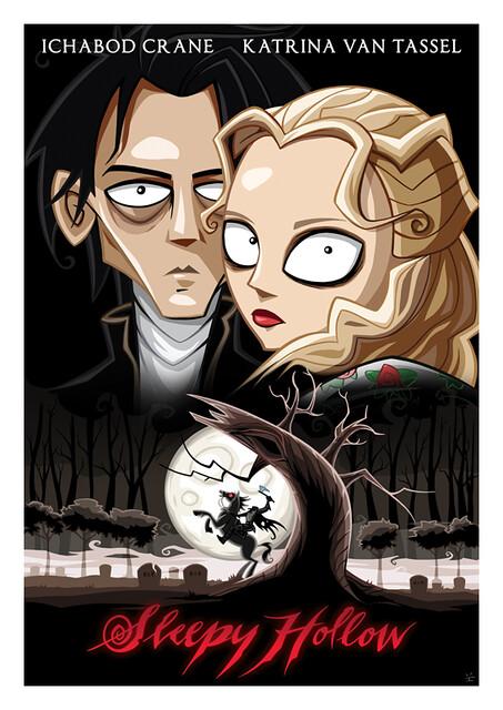 Posters de Filmes em animações