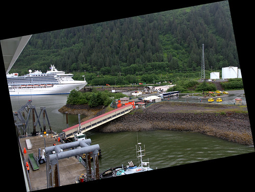 Juneau - Port for Norwegian
