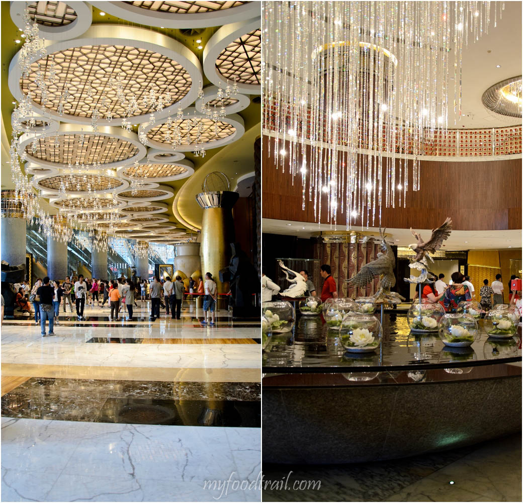 Joel Robuchon au Dome, Macau - Inside Grand Lisboa