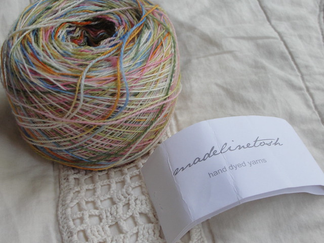Stash Yarn: Madelinetosh Lace Mansfield Garden Party 3