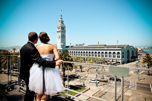 Julie Michelle Photography San Francisco Ferry Building Wedding Converse