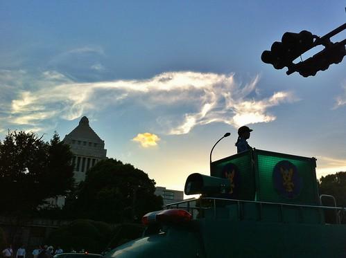 2012/08/03 国会議事堂前
